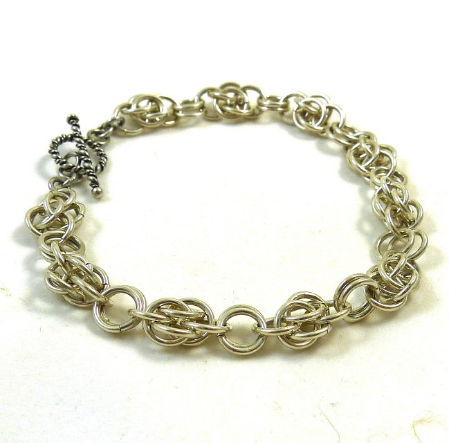 Scary Weave Chainmaille Bracelet