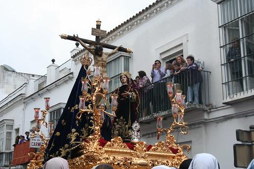 Santísimo Cristo de los Milagros. Procesión Magna del Santo Entierro. Sanlúcar de Barrameda, Sábado Santo 2011