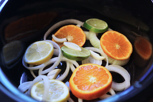 citrus rosemary crockpot