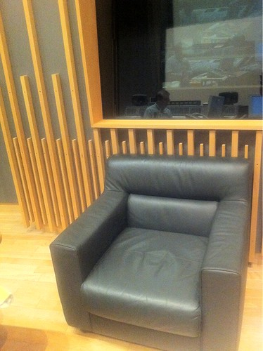 My favourite sleeping couch in the sound mixing studio