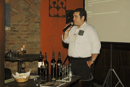 palestra com Sommelier Lander P. Santos