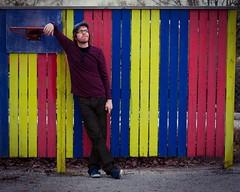 247. The Day I Was a Horse (Lonyl) Tags: blue red horse selfportrait basketball yellow norway canon fence hoop trondheim lightroom kindergarden project365 365days 40d photoscape lonyl jørnolavløkken iamnotapretentiousfucker