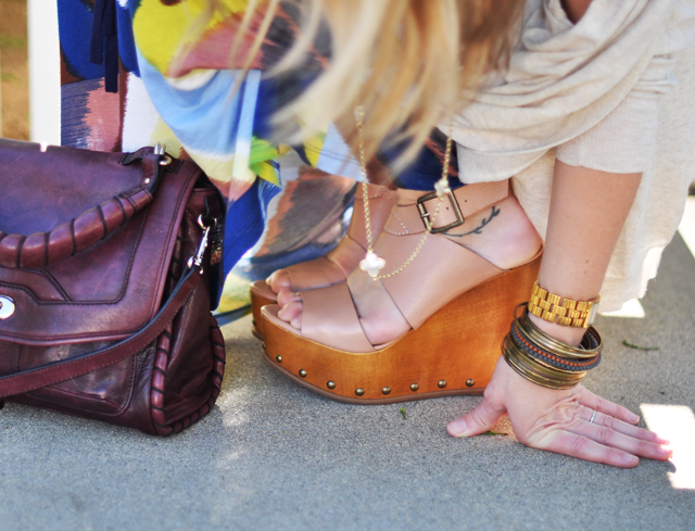 steve madden wedges and cynthia rowley bag