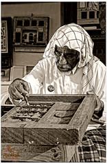 Sculptor  (Fawaz Abdullah) Tags: wood old portrait sculptor handcrafts     deflect  modeler     laser707 fawazabdullah   aljanadiriyah  abuadnan