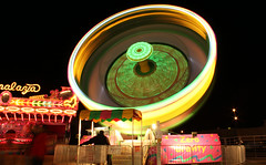 Vomit Inducer (Robby Ryke) Tags: longexposure carnival summer colors night canon fun lights tripod amusementpark rides swirls t2i