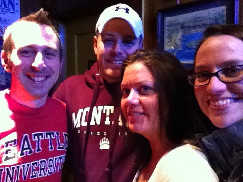 Yancy, Dave, Marisa, Emily