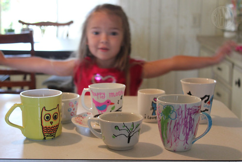 Mother's day cups craft