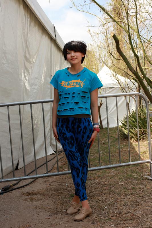 tornblue - austin sxsw street fashion style