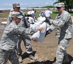 Kentucky Guard provide flood relief support