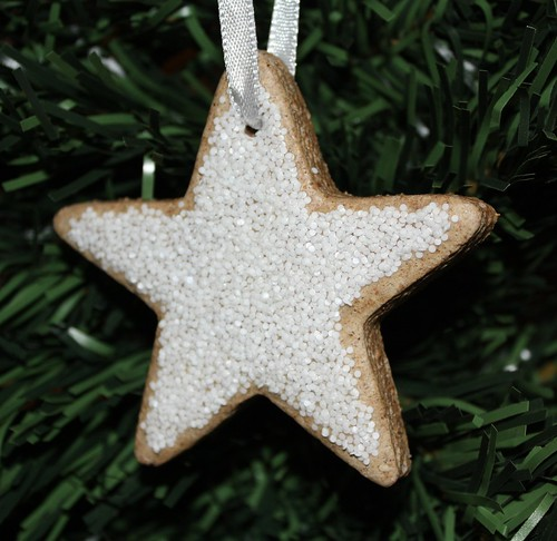Gingerbread Salt Dough Star