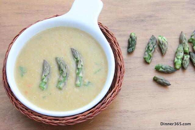Day 119 - Asparagus Lentil Soup