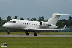 OY-GBB - 5732 - Execujet Europe - Canadair CL-600-2B16 Challenger 605 - Luton - 100607 - Steven Gray - IMG_3307