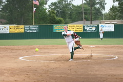 Baytown Lee vs LC-M 017 (The Orange Leader) Tags: school orange high texas little baytown leader cypress softball lcm mauriceville ganders baytownleevslcm