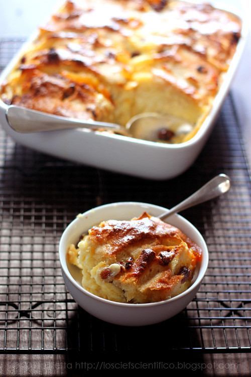 Marmalade & Rum Bread & Butter Pudding