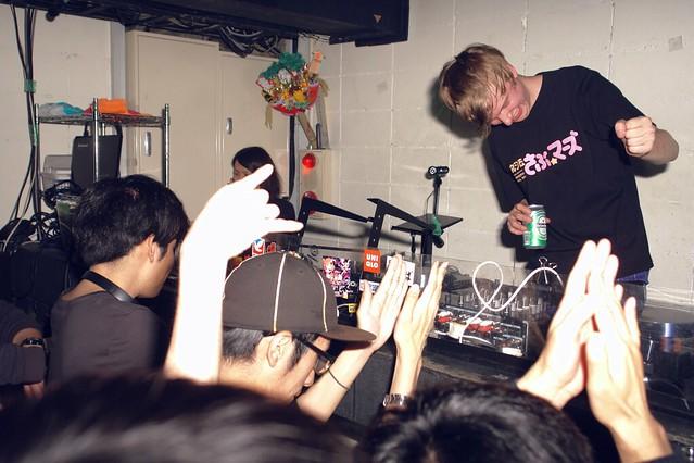 DJ Submerse finish his DJ set, thanks!