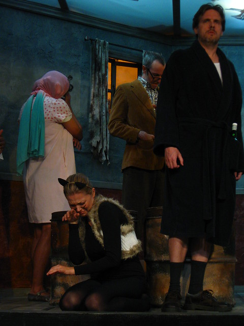 George blames Margaret for Tim running away.