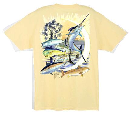 Palmetto Moon Guy Harvey T-Shirt