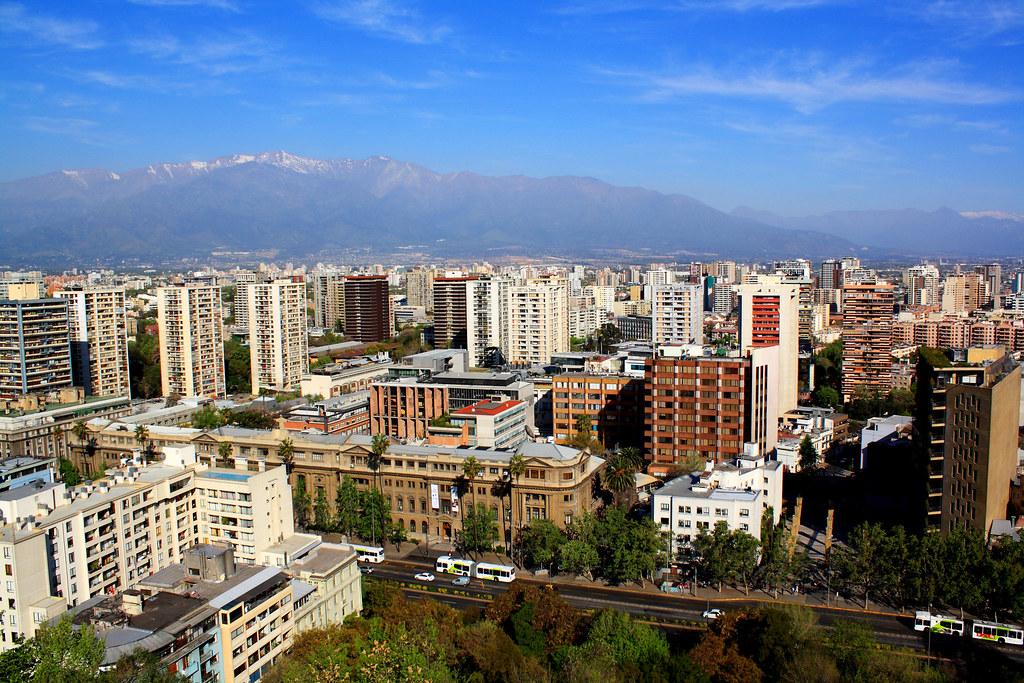 Cierro Santa Lucia, Santiago, Chile
