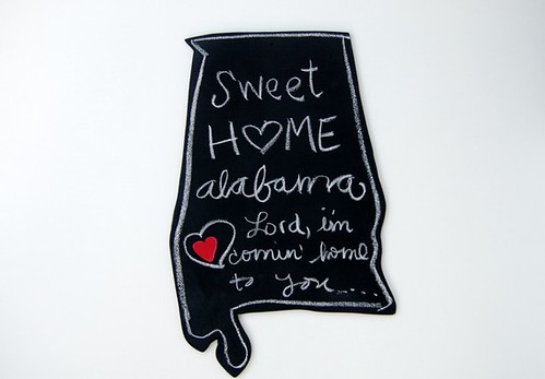 tornado relief Sweet Home Alabama chalkboard