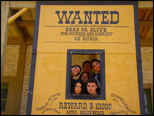 Cartel Wanted - Tabernas
