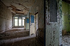 alternatives (rustyjaw) Tags: abandoned window hospital peeling doors open urbandecay corridor hallway urbanexploration asylum hdr kirkbride greystoneparkpsychiatrichospital