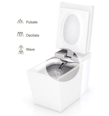 Numi design toilet