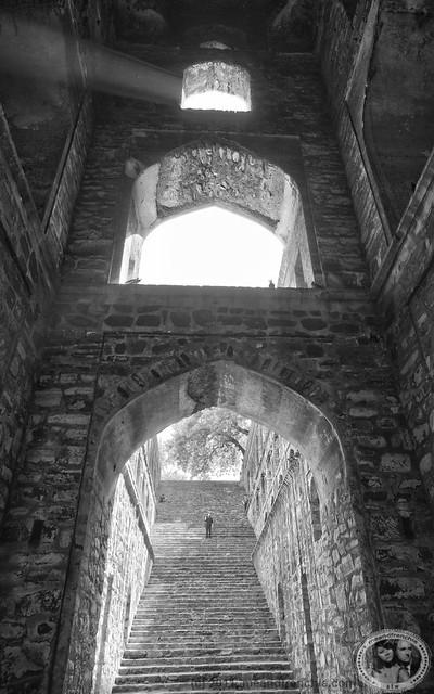 Light Inside Agrasen Ki Baoli
