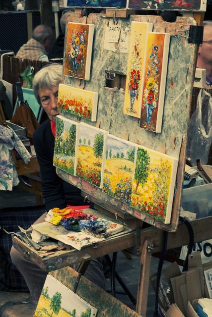 La pintora escondida