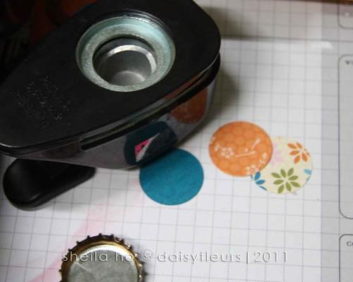 Bottle Cap Magnet tutorial pics