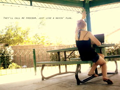 Summertime (jensine0617) Tags: park summer music girl lyrics wavinflag