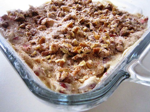 Coffee cake topped with streusel, take two