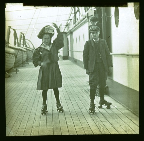 Onboard the Mauretania