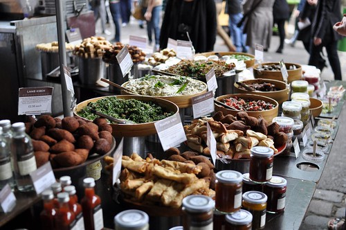 mezze at Borough Market