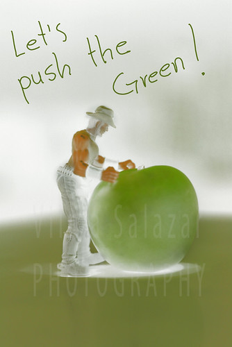 Let´s push the Green  by Vilma Salazar