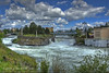 Upper Falls On the Spokane River (jimgspokane) Tags: spokane waterfalls rivers otw onlythebestare naturewatcher nikonflickraward today´sbest upriverfalls