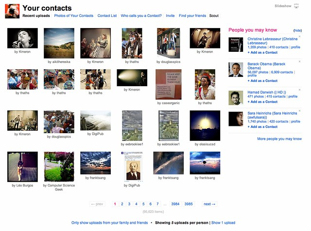 How to Improve the 2nd Most Important Page on Flickr