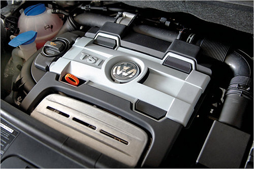 VW 1,4l R4 TFSI Engine