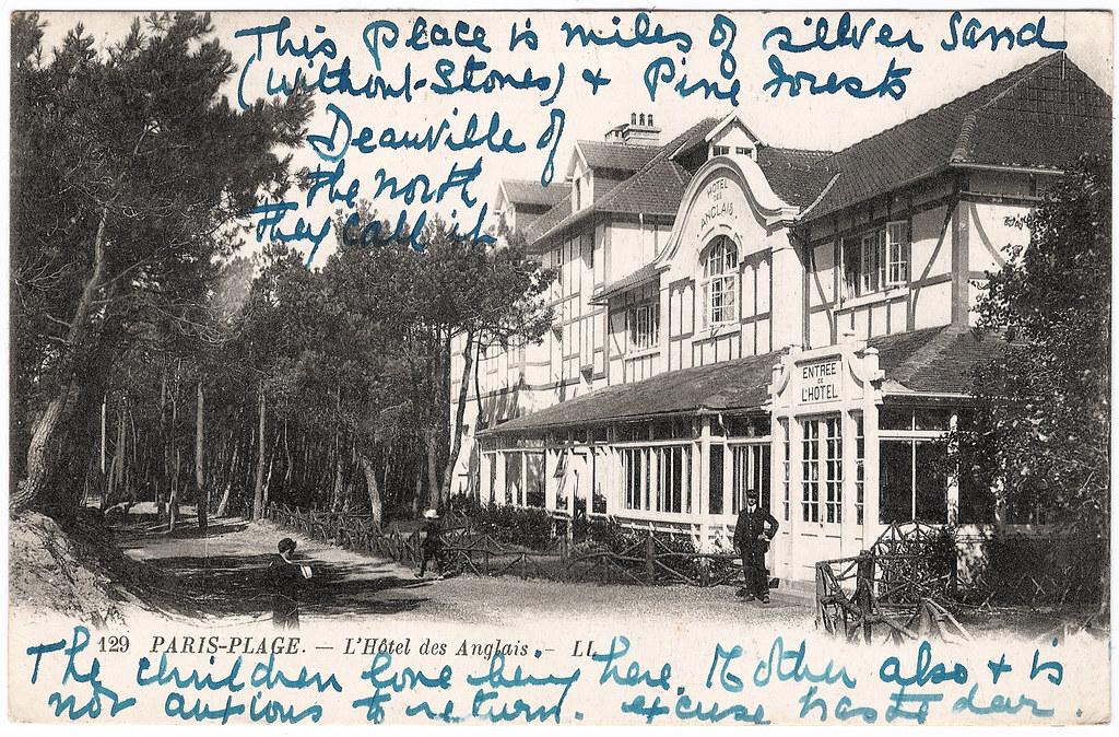 Paris-Plage - l'Hôtel des Anglais & its Rôle in the Great War
