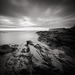 Pittenweem Pier (gregheath) Tags: sea square coast scotland rocks fife pittenweem