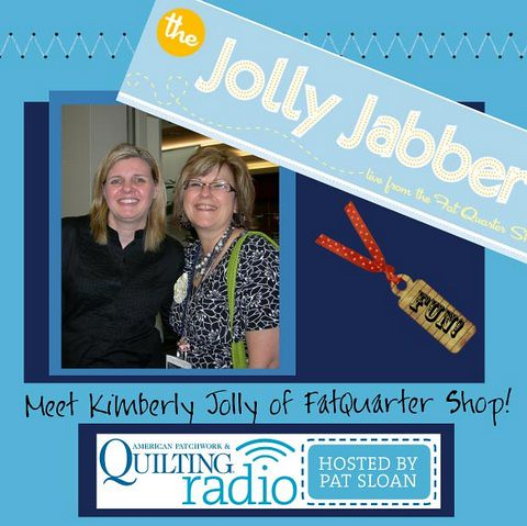 Pat Sloan - Season 3 American Patchwork & Quilting Radio - show 5