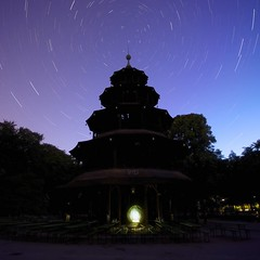 Chinese Tower (Gus Mercerat (310 K Thanks!)) Tags: star nacht monaco trail lp estrellas alemania stern germania