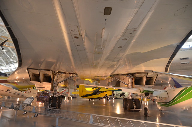 Steven F. Udvar-Hazy Center: Concorde (view underneath)