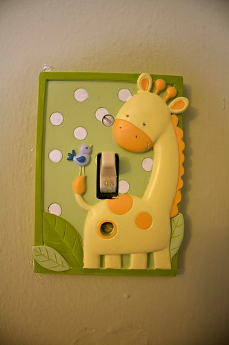 Giraffe Light Switch
