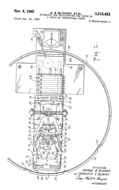 centrifugal force patent