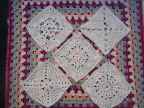 Look at these different patterns for our 'Winter Wonderland' Challenge, gorgeous Squares!