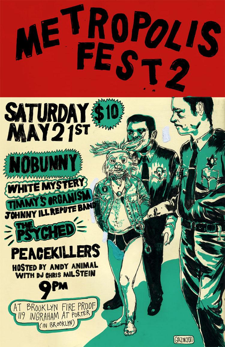 2011/05/14 Metropolis Fest 2 Poster