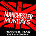 Manchester Mondays event flyer