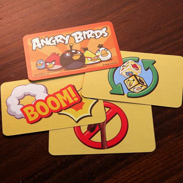 juego de cartas de angy birds 2