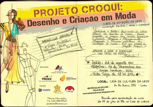 CARTAZ CURSO DE DESENHO DE MODA