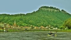 Knigstein in der Schsischen Schweiz V1 (JeanM.DD) Tags: europa europe germany deutschland sachsen dresden canon powershot g15 knigstein schsischenschweiz schsischen schweiz elbe